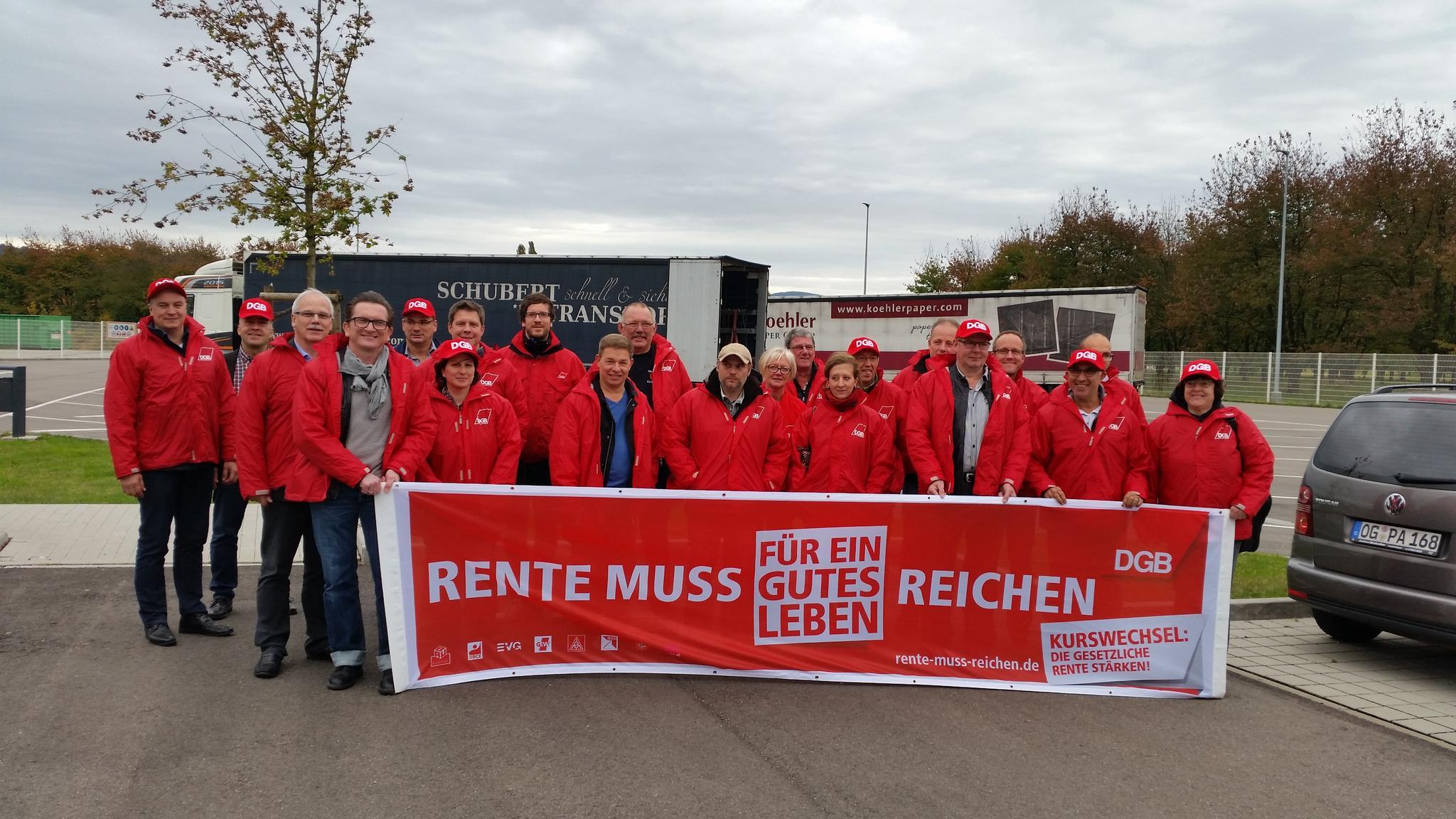 Betriebsräte für faire Rente