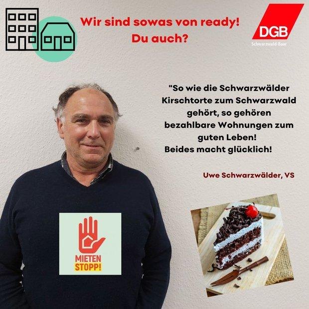 Uwe Schwarzwälder, DGB Schwarzwald-Baar