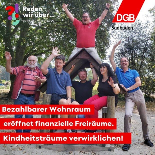 DGB-Aktive in Südbaden