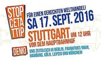 Bühne TTIP