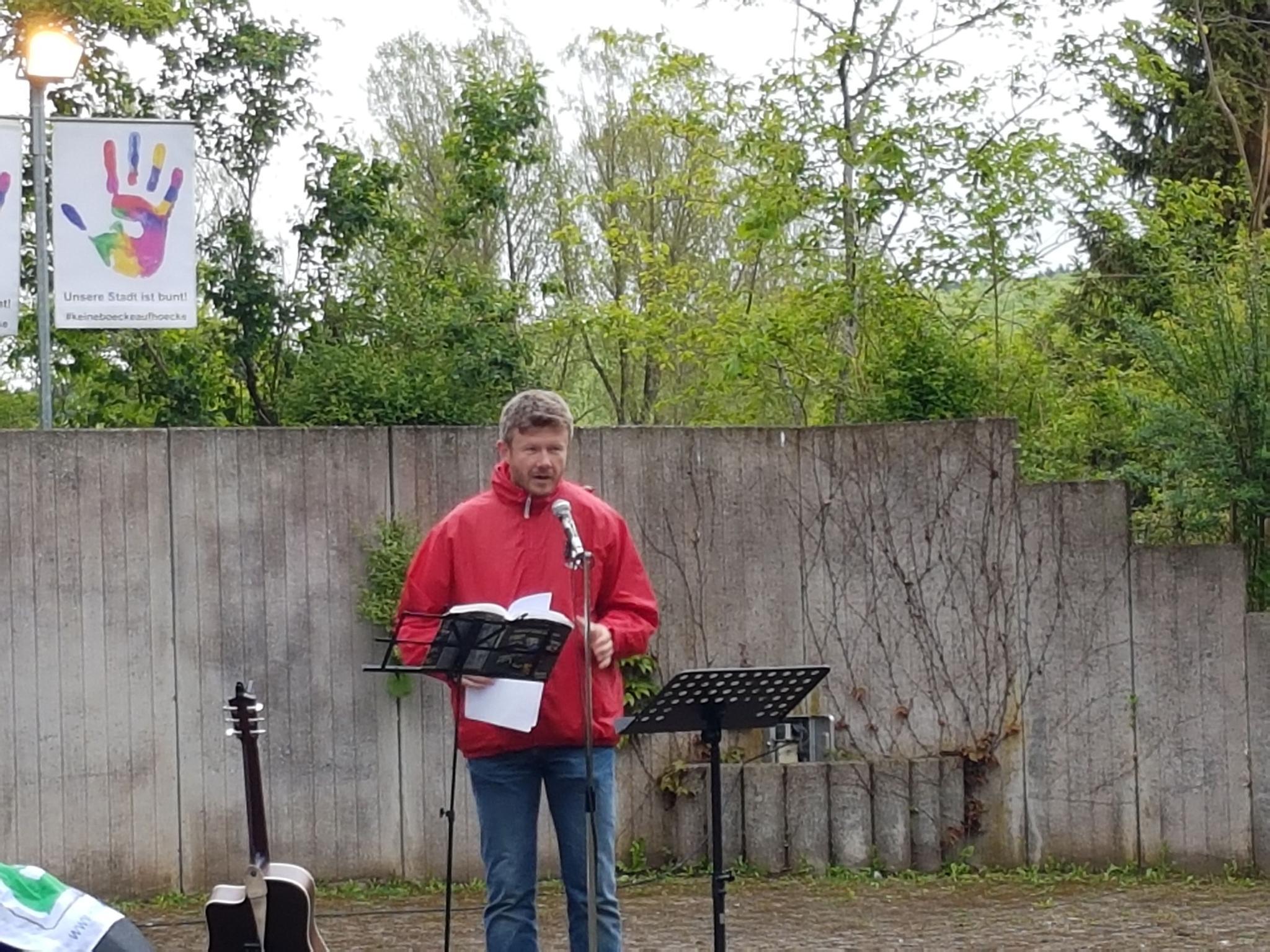 Edmond Jäger Vorsitzender des DGB Kreisverbandes Tuttlingen